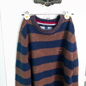 Tommy Hilfiger Striped Crewneck Sweater XS